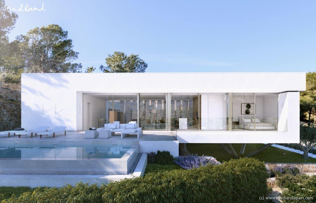 Chalet de 3 habitaciones en Las Colinas Golf en venta con piscina - 1.050.000 € (Ref: 4182550)