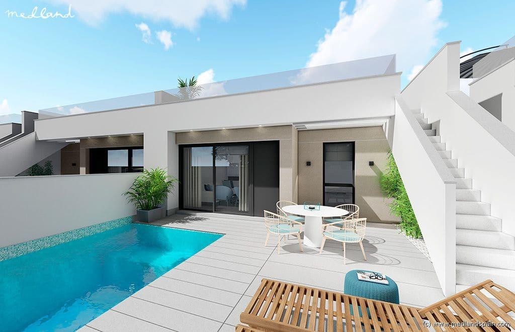 Chalet de 2 habitaciones en Pilar de la Horadada en venta con piscina garaje - 209.900 € (Ref: 4722439)
