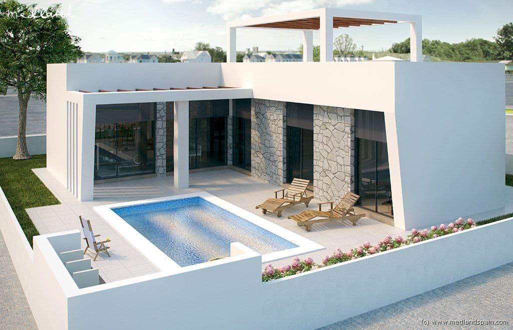 Chalet de 3 habitaciones en Polop en venta con piscina garaje - 320.000 € (Ref: 4972139)