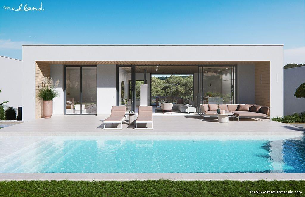 Chalet de 3 habitaciones en Las Colinas Golf en venta con piscina garaje - 635.000 € (Ref: 5021680)