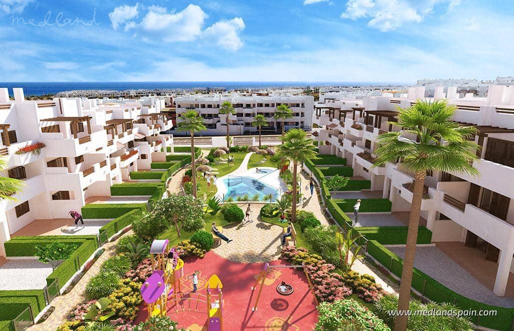Apartamento de 2 habitaciones en San Juan de los Terreros en venta con piscina - 122.000 € (Ref: 5878542)