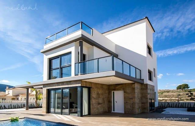 4 soveværelse Villa til salg i Castalla med swimmingpool - € 295.900 (Ref: 5878955)