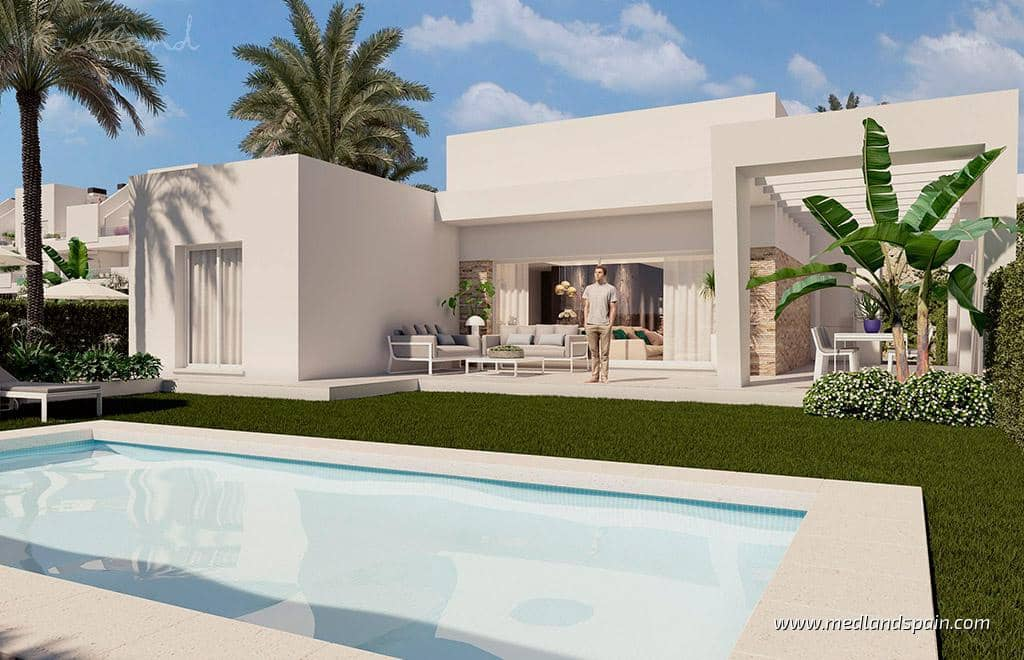 3 soveværelse Villa til salg i Algorfa med swimmingpool - € 419.000 (Ref: 6029874)