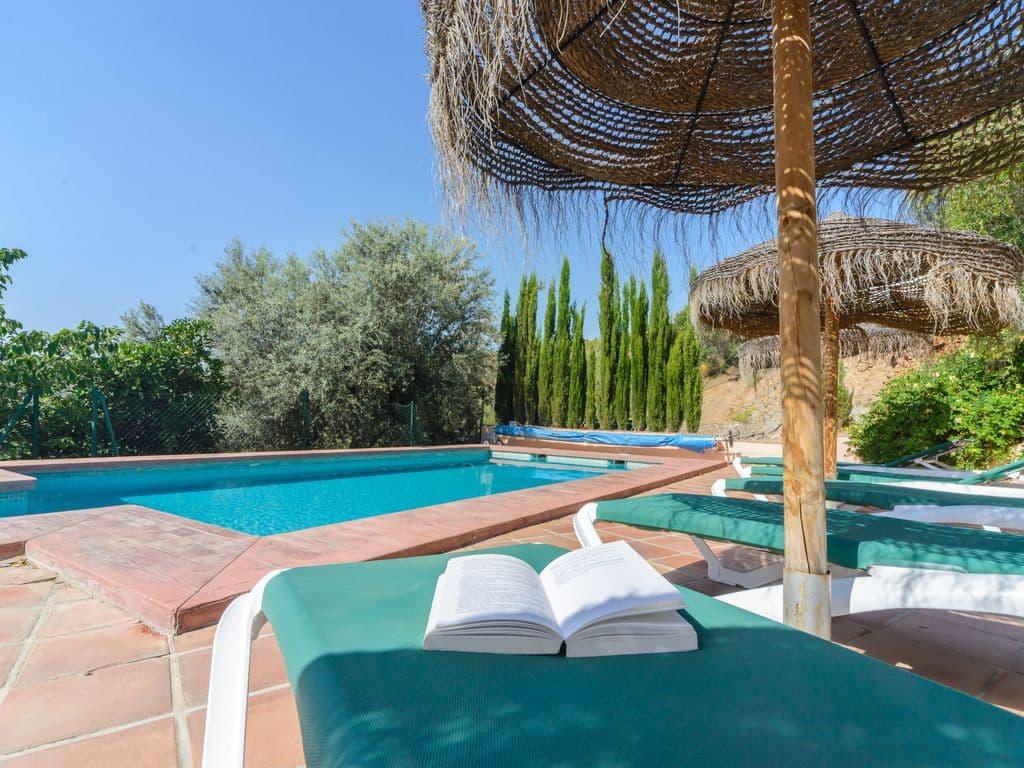 5 Zimmer Ferienvilla in Comares mit Pool - 575 € (Ref: 2478209)