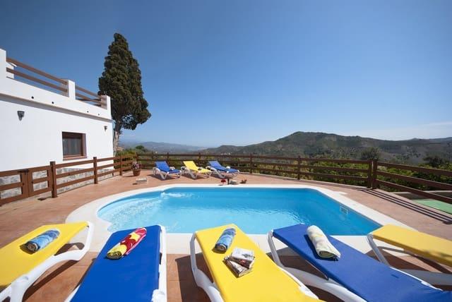 Finca/Casa Rural de 6 habitaciones en Comares en alquiler vacacional con piscina - 600 € (Ref: 4572439)