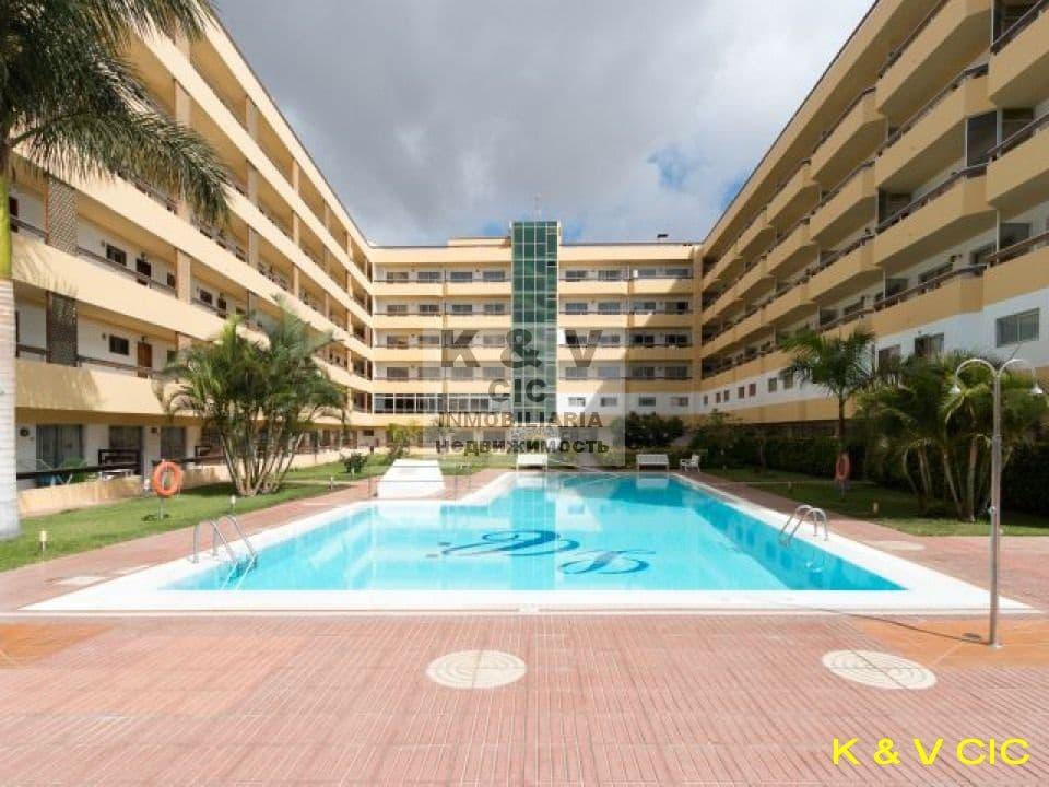 1 soveværelse Lejlighed til leje i Playa del Ingles - € 750 (Ref: 4766129)