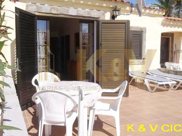 1 soveværelse Bungalow til leje i Playa del Ingles - € 800 (Ref: 4812307)