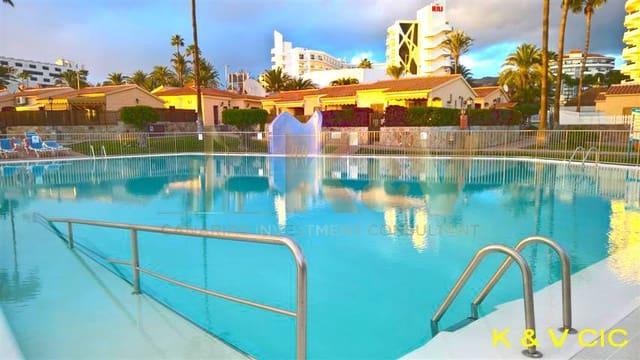 1 soveværelse Bungalow til leje i Playa del Ingles med swimmingpool - € 850 (Ref: 4973768)