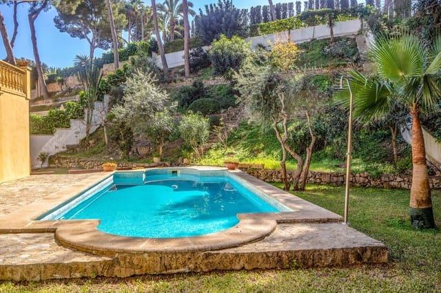 4 soverom Villa til leie i Cas Catala med svømmebasseng garasje - € 3 000 (Ref: 6007673)