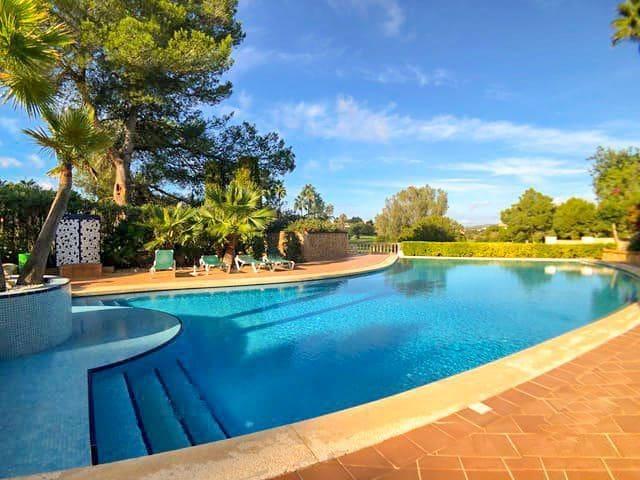 3 sypialnia Dom blizniak do wynajęcia w Santa Ponsa z basenem garażem - 1 950 € (Ref: 6007674)