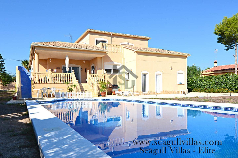 Chalet de 4 habitaciones en Muchamiel / Mutxamel en venta con piscina - 379.000 € (Ref: 4205622)