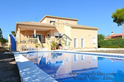 4 bedroom Villa for sale in Muchamiel / Mutxamel with pool - € 379,000 (Ref: 4205622)