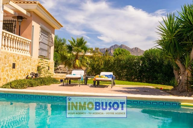 3 bedroom Villa for sale in Busot with pool - € 280,000 (Ref: 5515988)