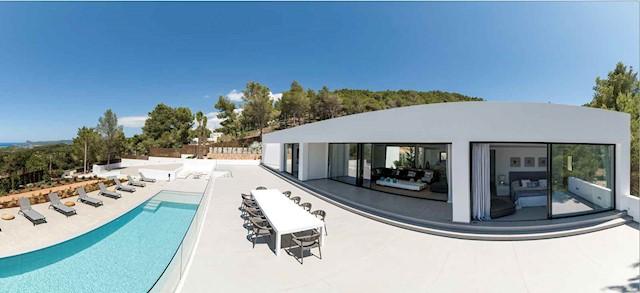 Chalet de 5 habitaciones en San Jose / Sant Josep de Sa Talaia en alquiler vacacional con piscina - 10.220 € (Ref: 3786895)