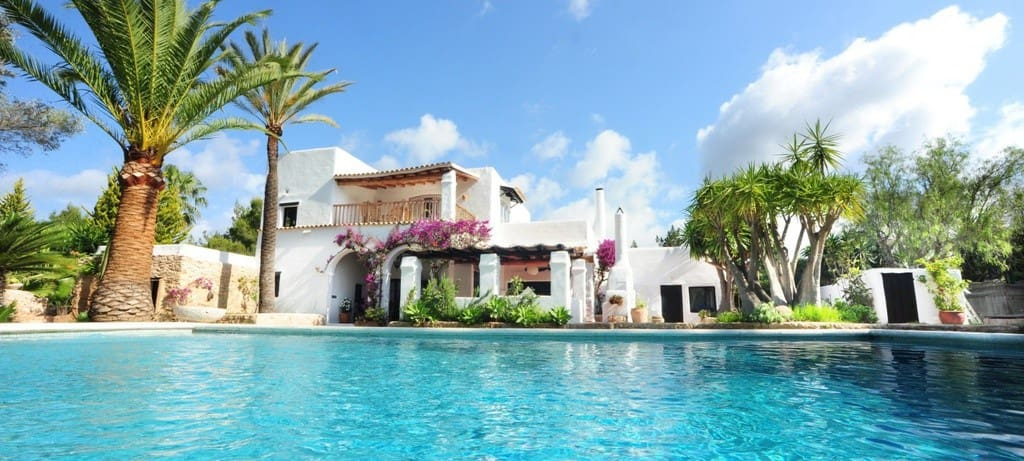 6 slaapkamer Villa te huur in Sant Rafael de Sa Creu met zwembad garage - € 18.000 (Ref: 4048530)