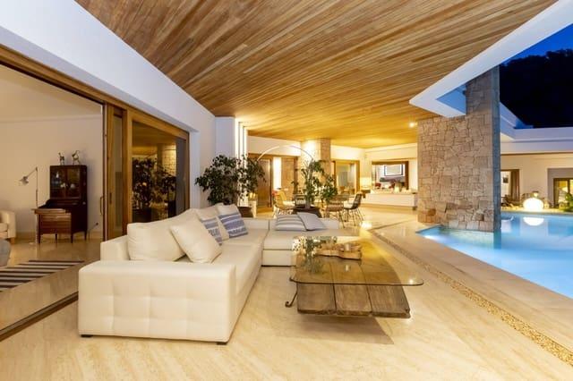 7 soverom Villa til salgs i Ibiza by med svømmebasseng garasje - € 14 910 (Ref: 4270858)