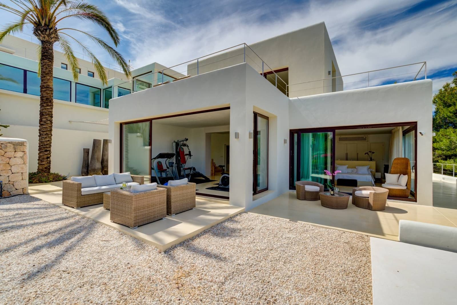 6 camera da letto Villa da affitare come casa vacanza in San Jose / Sant Josep de Sa Talaia con piscina garage - 23.394 € (Rif: 4768207)
