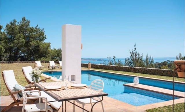 2 Zimmer Ferienvilla in Es Cubells mit Pool - 3.745 € (Ref: 5325077)