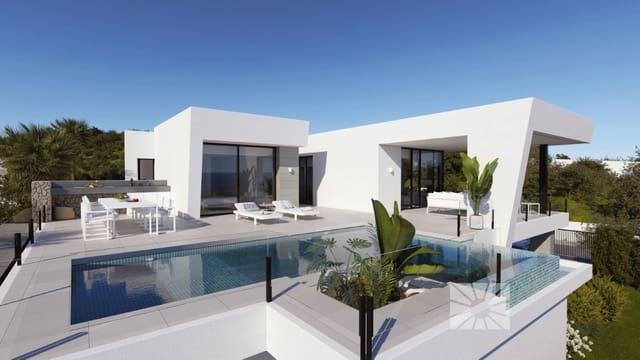 3 makuuhuone Huvila myytävänä paikassa Benitachell / Benitatxell mukana uima-altaan  autotalli - 860 000 € (Ref: 6129819)