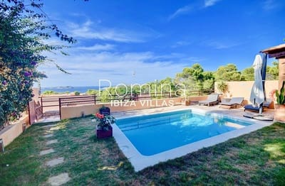 3 bedroom Semi-detached Villa for sale in San Jose / Sant Josep de Sa Talaia with pool garage - € 690,000 (Ref: 4205753)