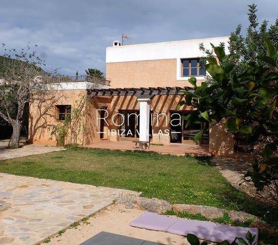 3 sypialnia Willa na sprzedaż w San Jose / Sant Josep de Sa Talaia z basenem - 1 280 000 € (Ref: 5260226)