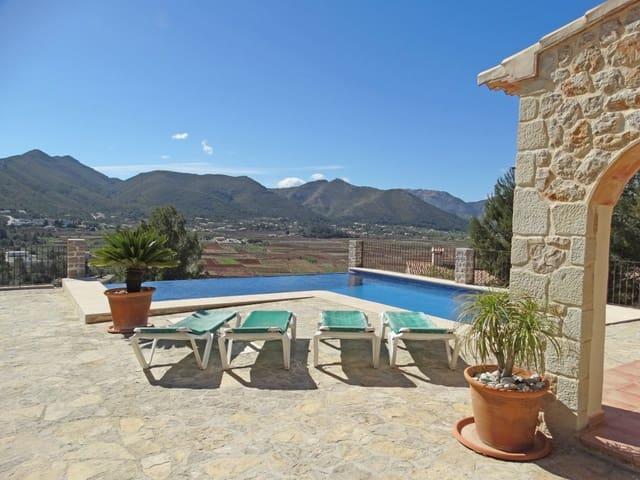 5 chambre Finca/Maison de Campagne à vendre à Lliber avec piscine garage - 865 000 € (Ref: 4743005)