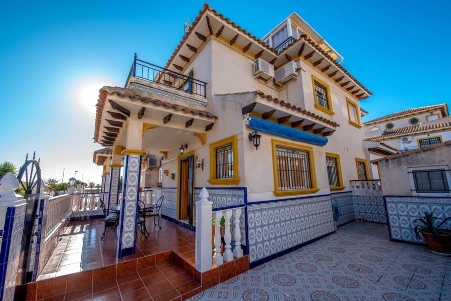 3 sovrum Semi-fristående Villa att hyra i Punta Prima med pool - 700 € (Ref: 5166630)