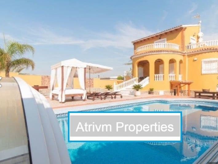 5 sovrum Villa att hyra i Orihuela Costa med pool - 2 000 € (Ref: 5206813)
