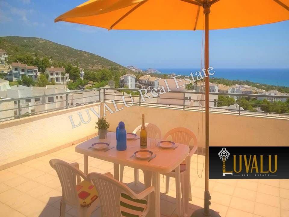 Apartamento de 2 habitaciones en Peñíscola en alquiler vacacional con piscina - 490 € (Ref: 4460651)