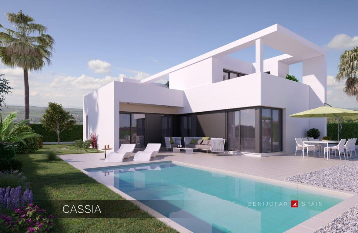 Chalet de 3 habitaciones en Benijófar en venta con piscina - 325.000 € (Ref: 3512810)
