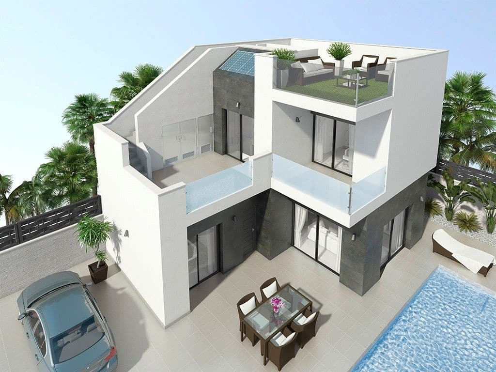 Chalet de 3 habitaciones en Benijófar en venta con piscina - 224.900 € (Ref: 3514093)