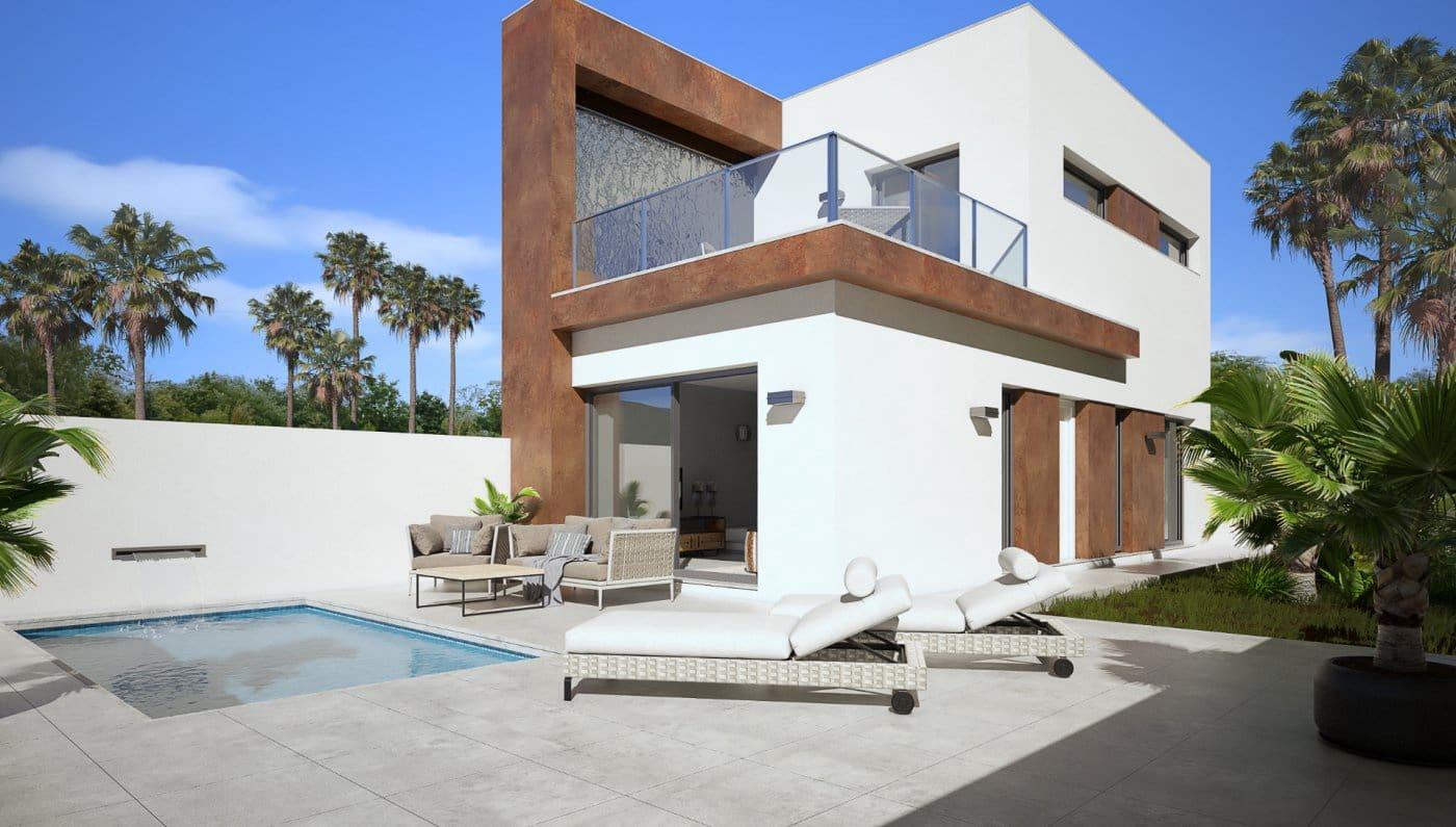 3 sypialnia Willa na sprzedaż w Daya Nueva z basenem garażem - 221 000 € (Ref: 6163626)