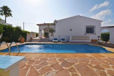 Chalet de 3 habitaciones en Calpe / Calp en venta con piscina - 335.000 € (Ref: 4125510)