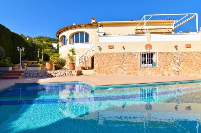 3 chambre Villa/Maison à vendre à Calpe / Calp avec piscine garage - 340 000 € (Ref: 5108713)