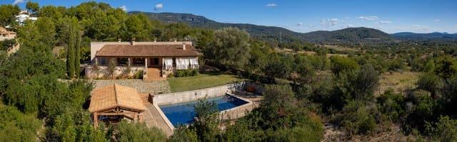4 soveværelse Villa til salg i Bunyola med swimmingpool - € 2.250.000 (Ref: 5721000)