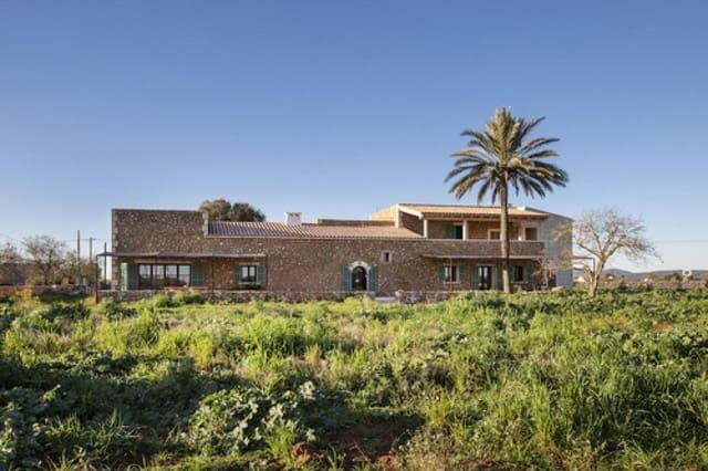 3 soveværelse Finca/Landehus til salg i Campos med swimmingpool - € 2.200.000 (Ref: 6126532)