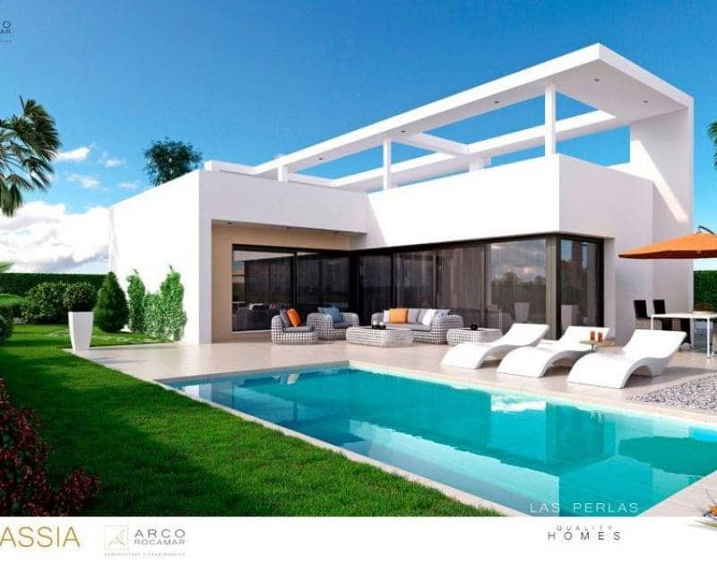Chalet de 2 habitaciones en Benijófar en venta con piscina - 321.000 € (Ref: 4093537)
