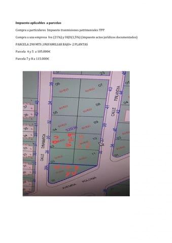 Terreno para Construção para venda em Roquetas de Mar - 105 000 € (Ref: 5987077)