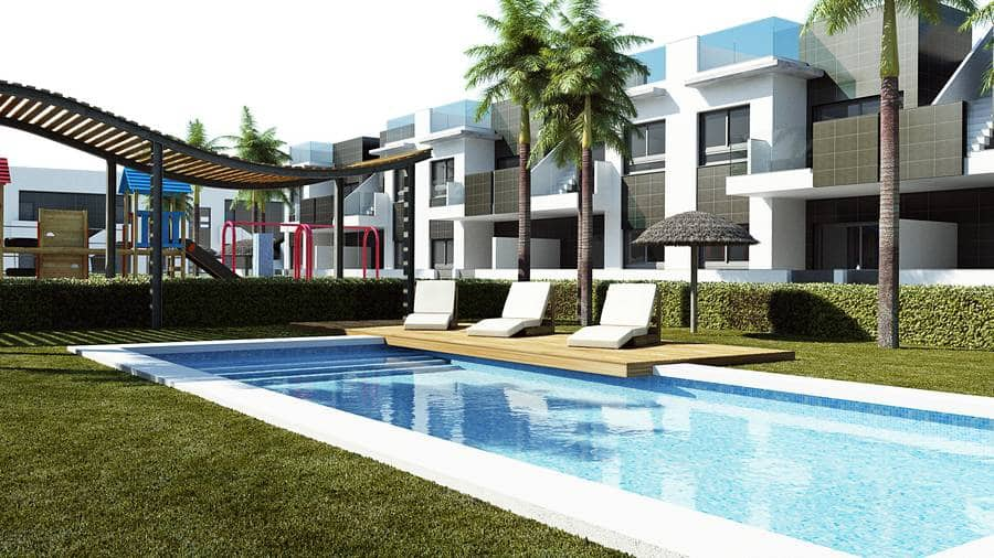 Apartamento de 2 habitaciones en Pilar de la Horadada en venta con piscina - 169.900 € (Ref: 4014406)