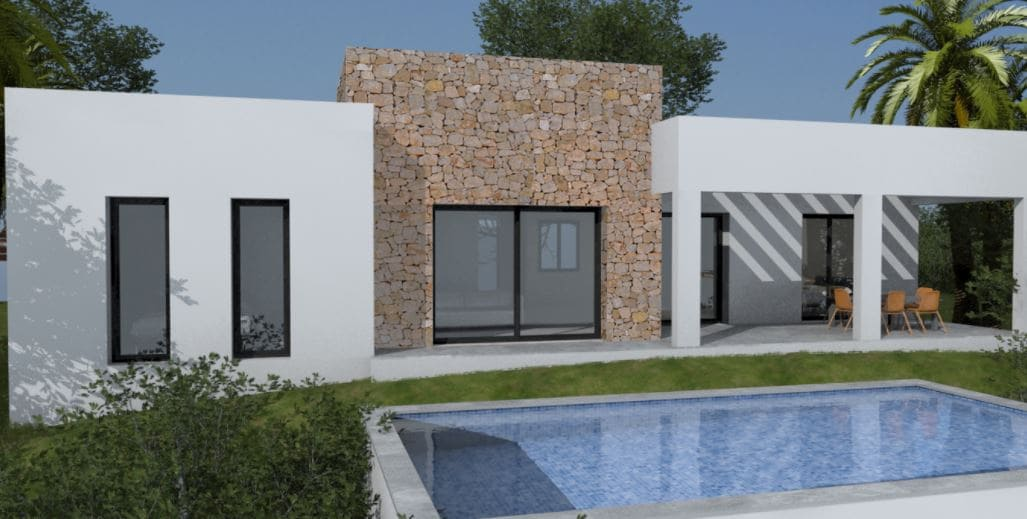 2 bedroom Villa for sale in Pedreguer with pool - € 259,000 (Ref: 4127829)