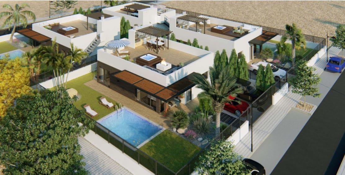 Chalet de 3 habitaciones en Polop en venta con piscina - 299.000 € (Ref: 4515879)