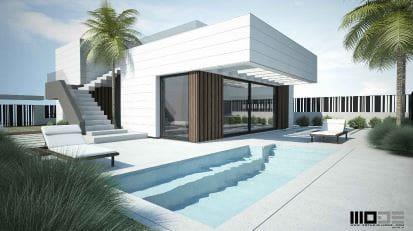 Chalet de 3 habitaciones en Polop en venta con piscina - 357.200 € (Ref: 4515883)