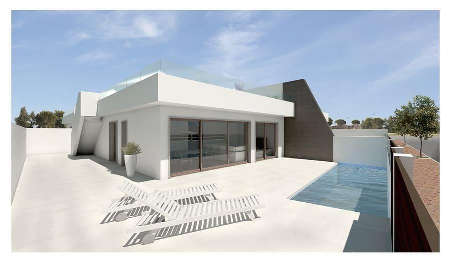 Chalet de 3 habitaciones en Pilar de la Horadada en venta con piscina - 299.900 € (Ref: 4617197)