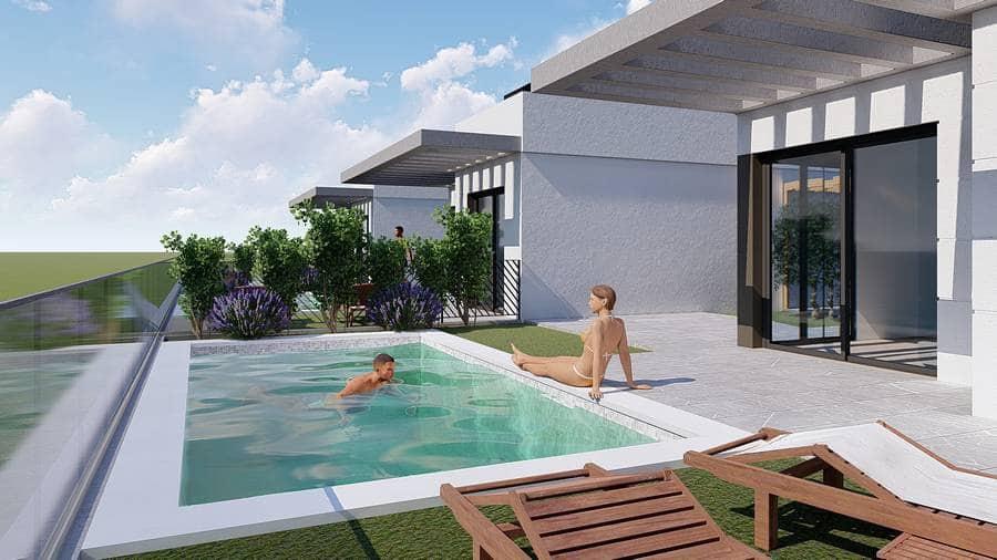 Chalet de 2 habitaciones en Polop en venta con piscina - 194.000 € (Ref: 4736831)