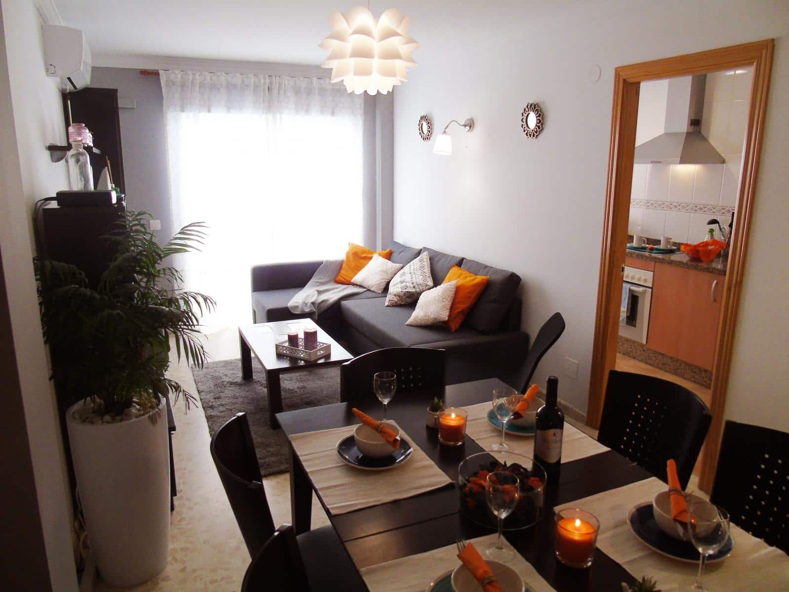 3 slaapkamer Flat te huur in Torre del Mar - € 780 (Ref: 3588097)