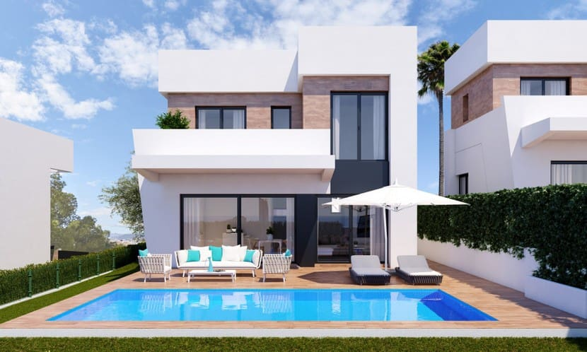 3 bedroom Villa for sale in Finestrat with pool - € 495,000 (Ref: 4518064)
