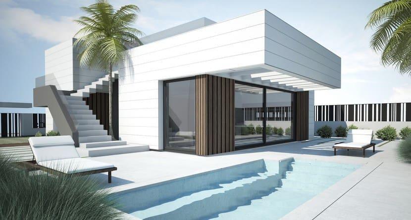 Chalet de 4 habitaciones en Polop en venta con piscina - 360.000 € (Ref: 5069845)