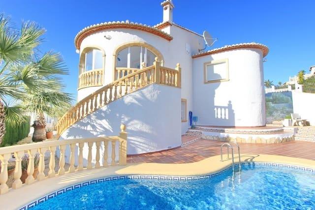 4 Zimmer Villa zu verkaufen in Pedreguer mit Pool - 299.000 € (Ref: 5125953)