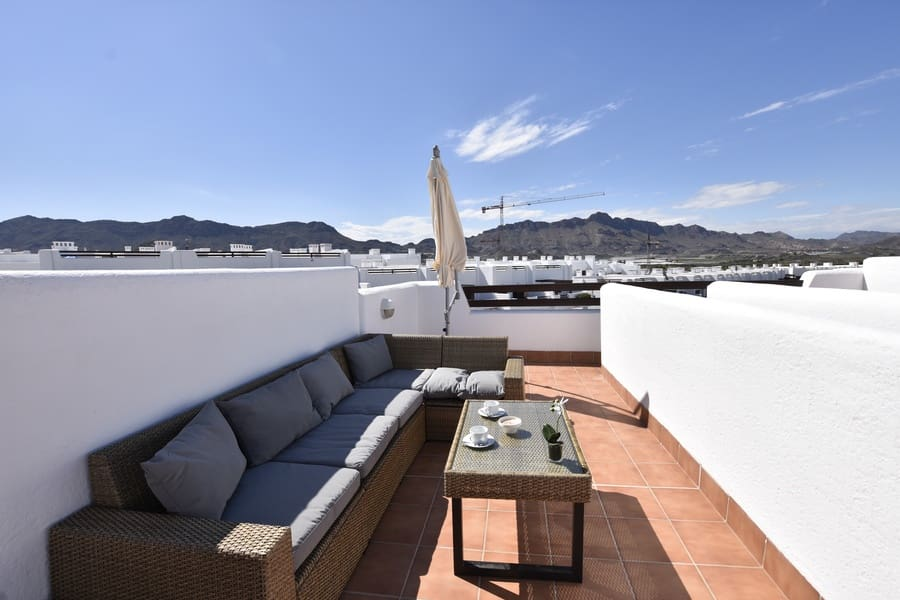 2 bedroom Apartment for holiday rental in San Juan de los Terreros with pool - € 500 (Ref: 5175491)