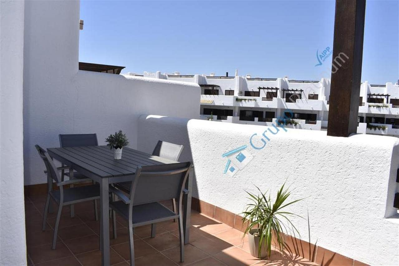 2 bedroom Penthouse for holiday rental in San Juan de los Terreros with pool - € 500 (Ref: 5175506)